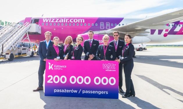 Wizz Air: 15 év, 200 millió utas