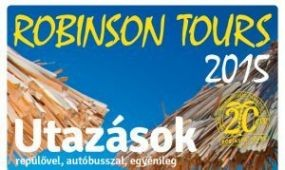 Jubileumi évre készül a Robinson Tours