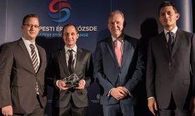 A Gazdasági Rádió nyerte a tőzsde médiadíját
