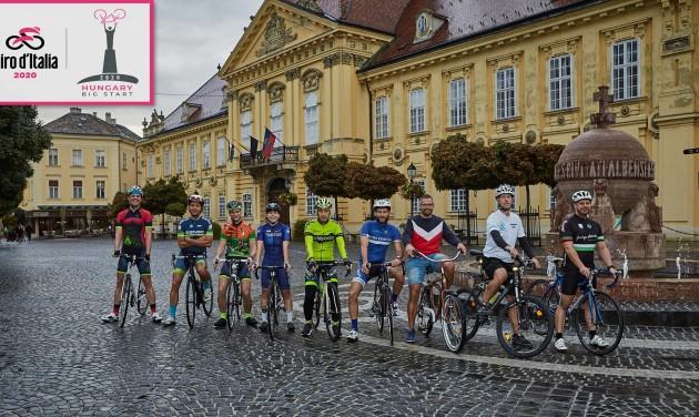 Giro d'Italia: Székesfehérváron már indulnak a programok