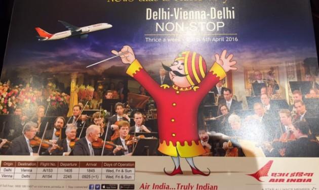 Air India rendezvény 70 budapesti beutaztatóval