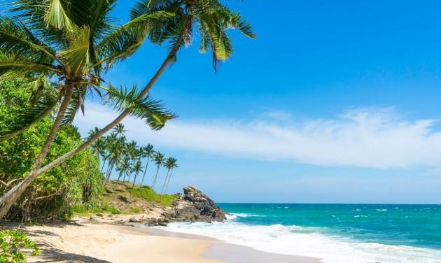 Félmillió turistára számít a téli szezonban Sri Lanka