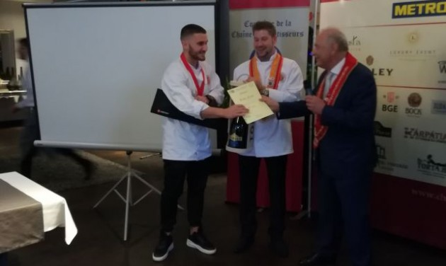 Kiss Erik győzött a Chainé ifjúsági szakácsversenyén
