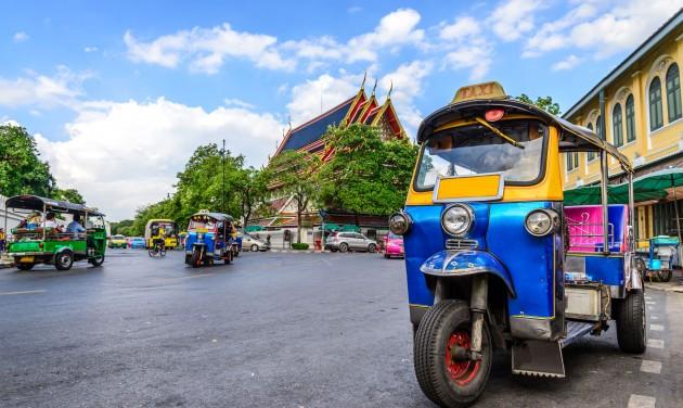 Pénzügyi segélycsomag a turisztikai kkv-knak Thaiföldön