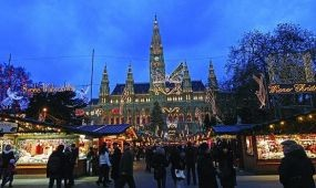 Karácsonyi készülődés Bécsben