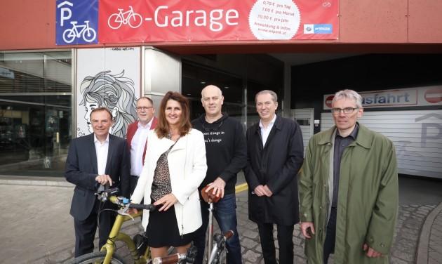 Új Bike & Ride létesítmény Bécsben