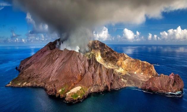 Új-zélandi vulkánkitörés: senki ne menjen a Fehér-szigetre!