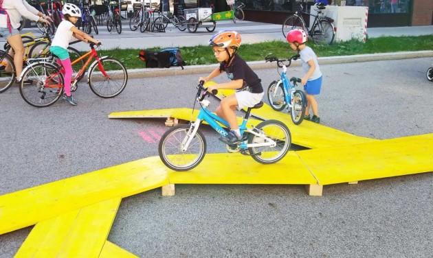 Biciklis játszótér épül Bécsben