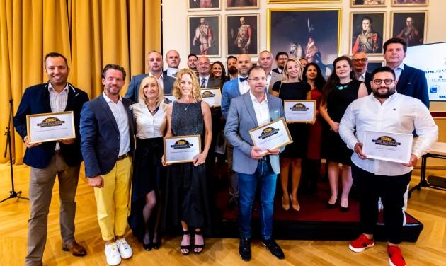 Átadták a Business Excellence 2021 díjakat