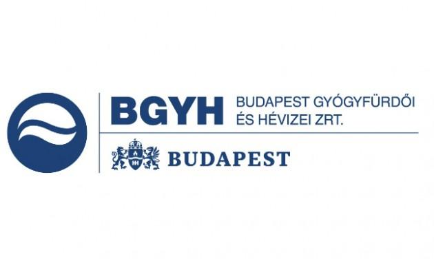 Budapest Gyógyfürdői Zrt. pályázati felhívása