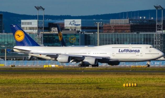 A Lufthansa Csoport már októberben meghaladta a tavalyi utasszámot