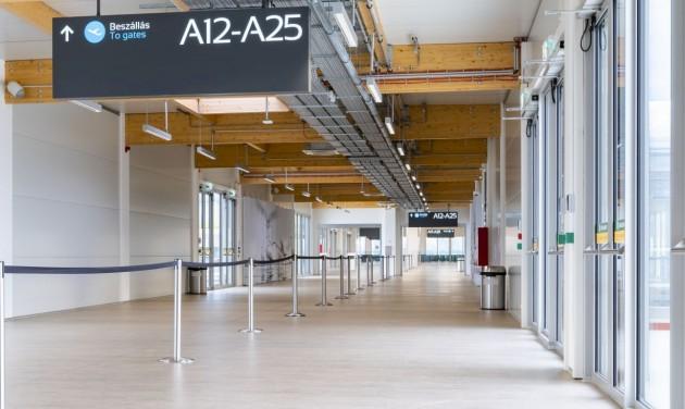 Megnyitja a reptér a 2-es terminál több részét