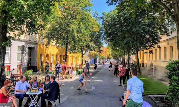 Huszonkét klimatizált utcával védekezik Bécs a hőség ellen