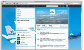 Elkötelezett a KLM a közösségi média mellett
