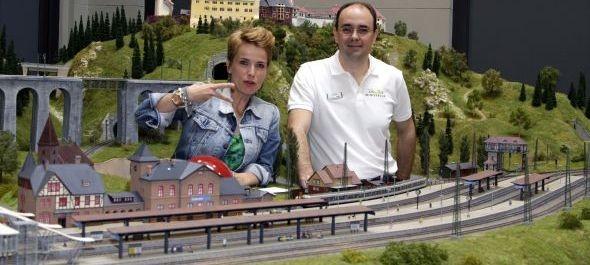 Bemutatták Budapesten a világ egyik legnagyobb vasútmodell terepasztalát