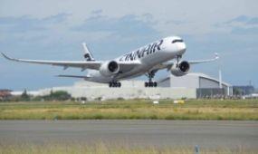 Európában a finn légitársaságé az első A350 XWB