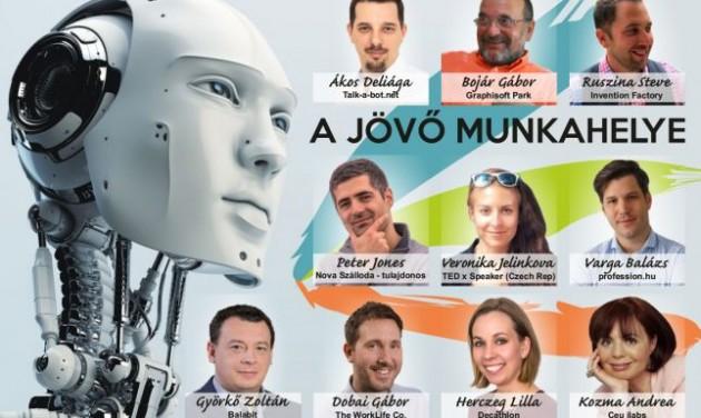A jövő munkahelye konferencia - MEGHÍVÓ