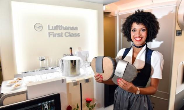 A Lufthansa is az Oktoberfestet ünnepli