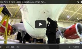 Így készül a fedélzeti wifi – VIDEÓVAL
