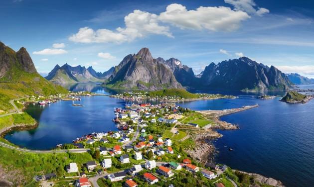 Zöld besorolású lett Norvégia
