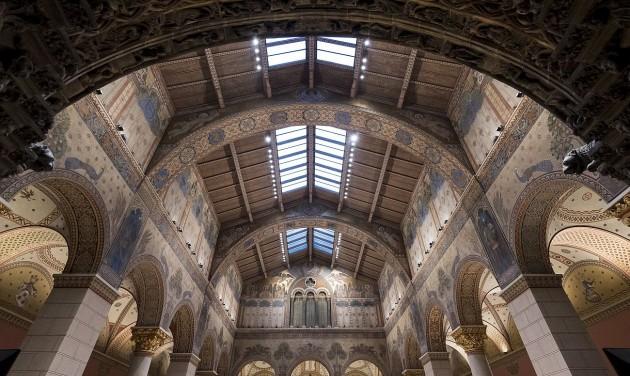 Két hétre megnyílik a Szépművészeti Román csarnoka