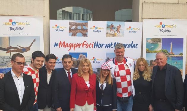 Horvátország a Gozsdu udvarban