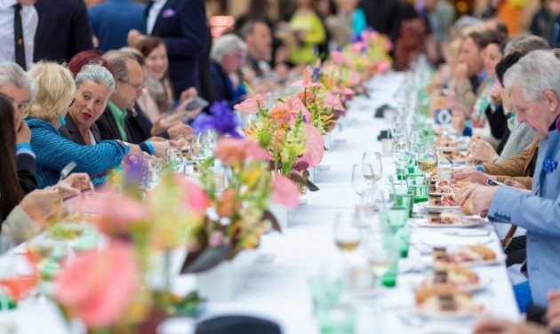 Jótékony gourmet fesztivál Bécsben