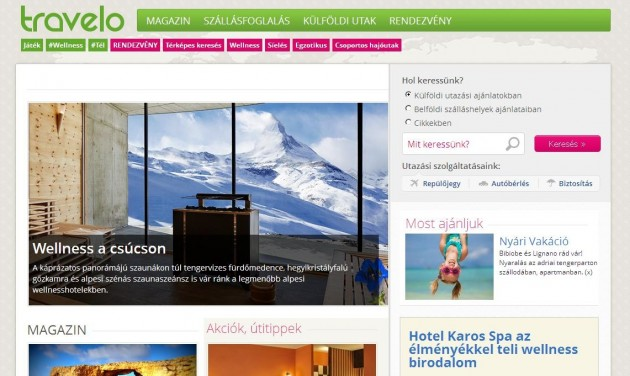 Az Origóhoz került a Travelo.hu