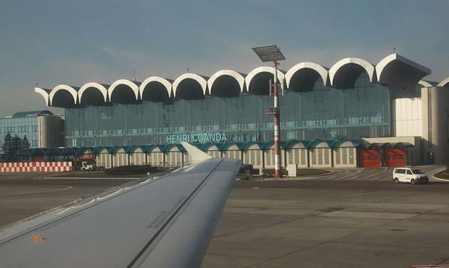 Emelkedő utasforgalom a bukaresti repülőtereken