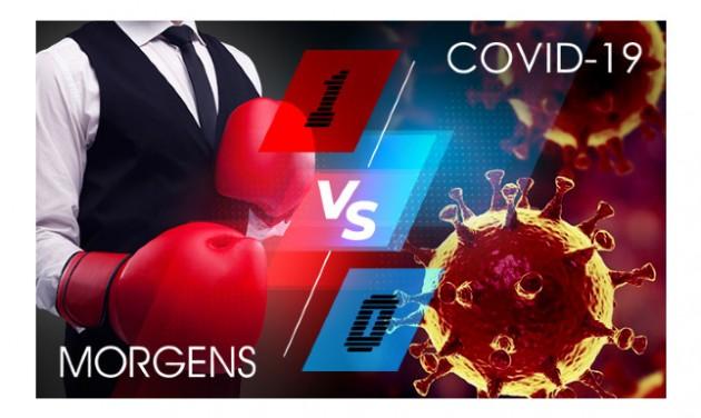MORGENS vs. COVID-19: Üzemszünet helyett erőteljes fejlesztés!