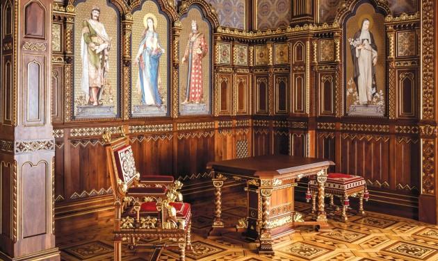 Ingyen megnézheti az újjászületett Szent István-termet a Budavári Palotában