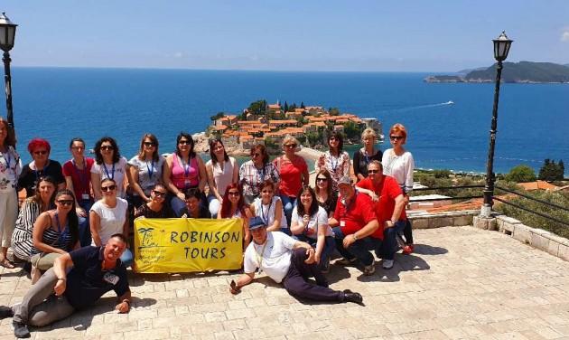 Montenegróban járt partnereivel a Robinson Tours