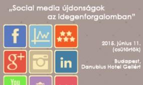 Social media újdonságok az idegenforgalomban