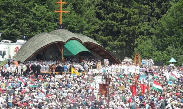 Nagy az érdeklődés a pápa csíksomlyói látogatása iránt