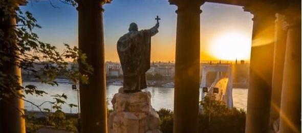 Lélegzetelállító timelapse videó Budapestről