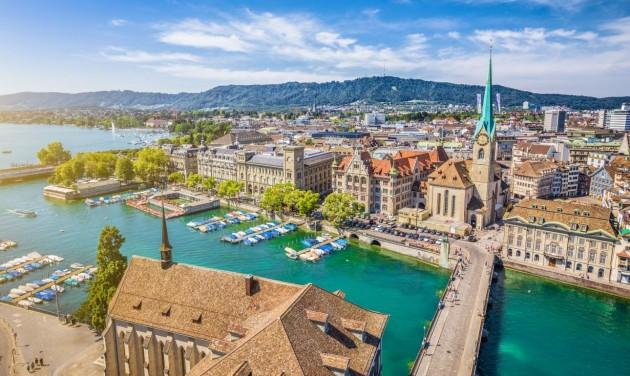 Újra el lehet jutni Budapestről hálókocsival Svájc legnagyobb városába