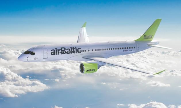 Jelentős bővülés az airBaltic-nál