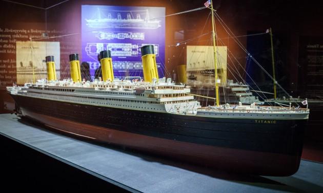 Titanic kiállítás: 20 000 érdeklődő 10 nap alatt