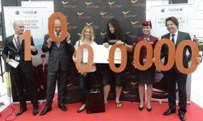 Havi egymillió utas a repülőtéren