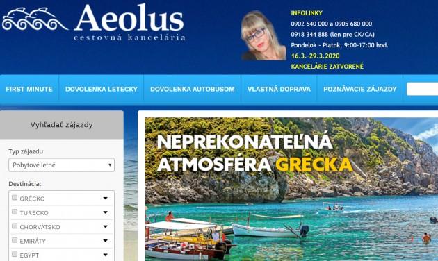Fizetésképtelenséget jelentett az Aeolus Szlovákiában