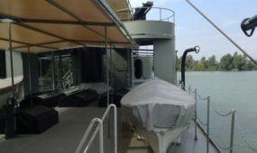 Látogatható a Lajta Monitor folyami hadihajó