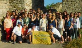 Bulgáriába szervezett study tourt a Robinson Tours