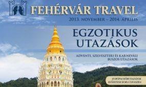 Új katalógus a Fehérvár Traveltől