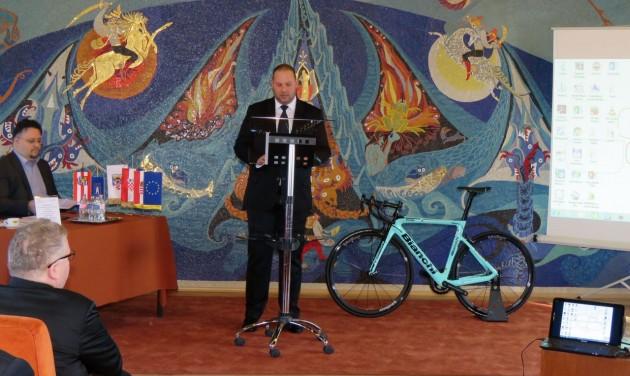 Happy Bike kerékpáros-központot avattak Letenyén