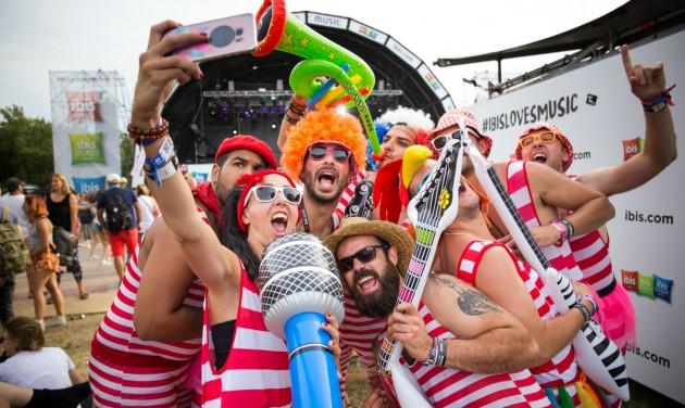 Közösségi média kampányt indított az ibis a Sziget Fesztiválon
