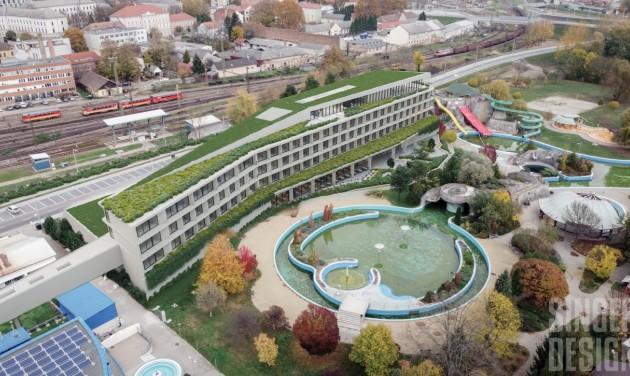 Négycsillagos szállodát épít Kaposvár, itt vannak a látványtervek