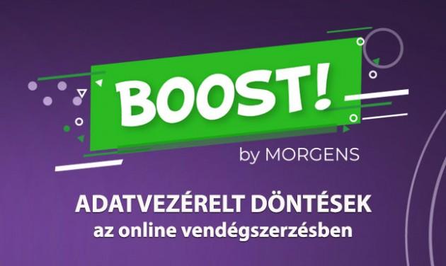 BOOST! – Adatvezérelt döntések az online vendégszerzésben