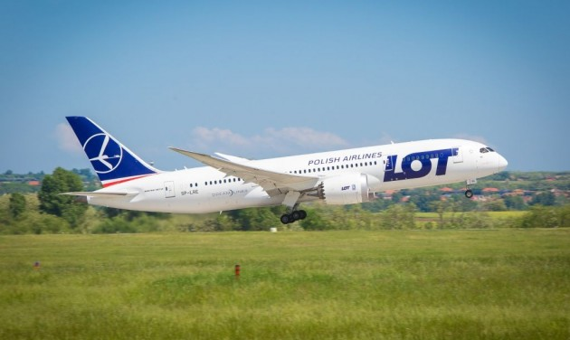 Budapestről London Cityre indít járatot a LOT