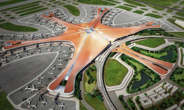 Megnyílt a világ legnagyobb egyterű terminálja Pekingben – videó