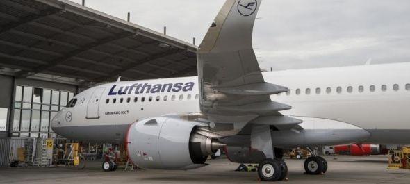 A világon elsőként vette át az Airbus A320neo repülőgépét a Lufthansa